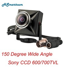 New CCTV Mini Analog Camera SONY 811 CCD 700TVL 150 Degree Wide Angle 1000TVL Video Cameras 1.7mm Lens Home Surveillance Camera