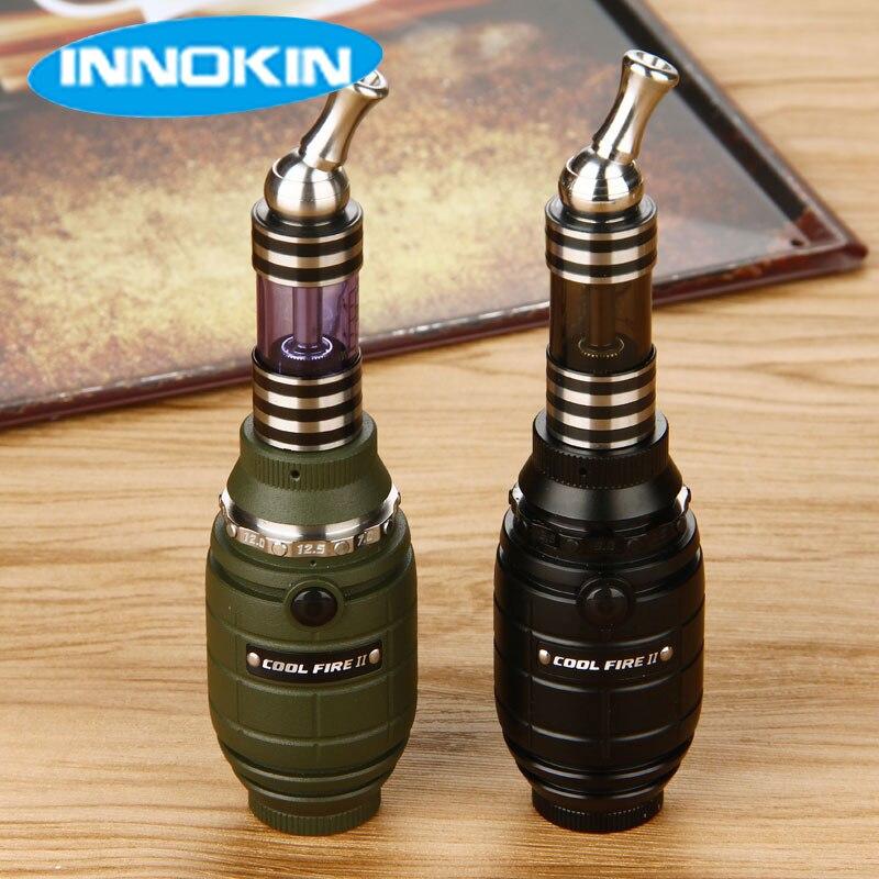 Original Innokin Legal Fogo 2 Mod 18350 MOD VW MOD Kit com 3 ml iClear 30B Clearomizer Bobina Dupla compatível com 510/eGo/eGo-T/eGo-C