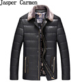 Free shipping 2017 New Arrival Men's Solid Korean Style Fashion Male Casual PU Leather Jacket Slim  Solid Coat men Jackets 88hfx