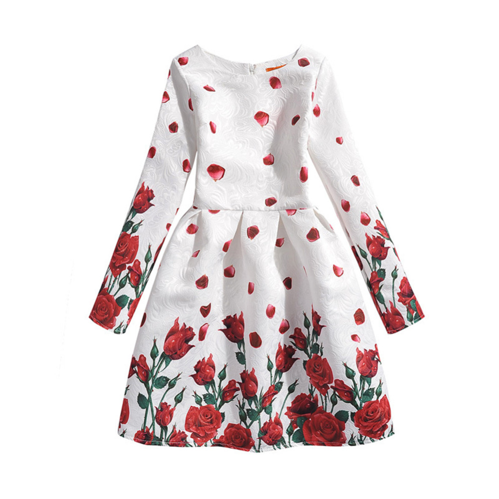 2017 Winter Girls Dress For Girls Princess Party Dresses