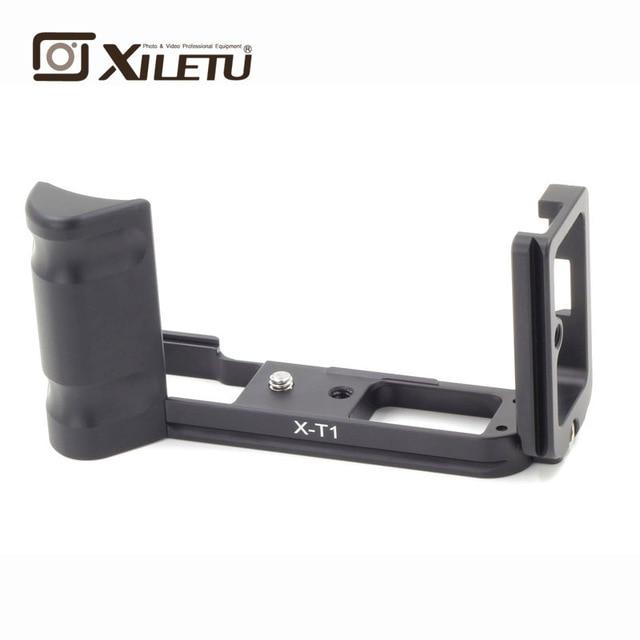 Xiletu LB-XT1 Professional L Ball Head Plate Quick Release Plate QR Bracket Mounting Plate For Fuji Fujifilm X-T1 Arca Tripod