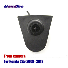 Liandlee AUTO CAM Car Front View Camera Small Logo Embedded / For Honda City 2008-2018 2010 ( Not Reverse Rear Parking Camera ) цена