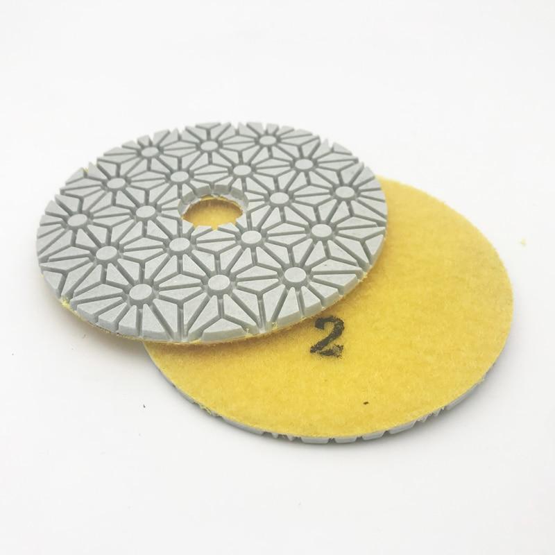 4 colių 100 mm deimantų drėgno / sauso poliravimo trinkelės 3 - Abrazyviniai įrankiai - Nuotrauka 3