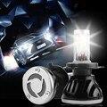 2 UNIDS Diamante Auto H4-3 H4 Coche Llevó la Linterna de Alta Potencia hi/lo Alto Bajo 40 W 4000LM Blanco 6000 K Bi xenon Repalcement faro