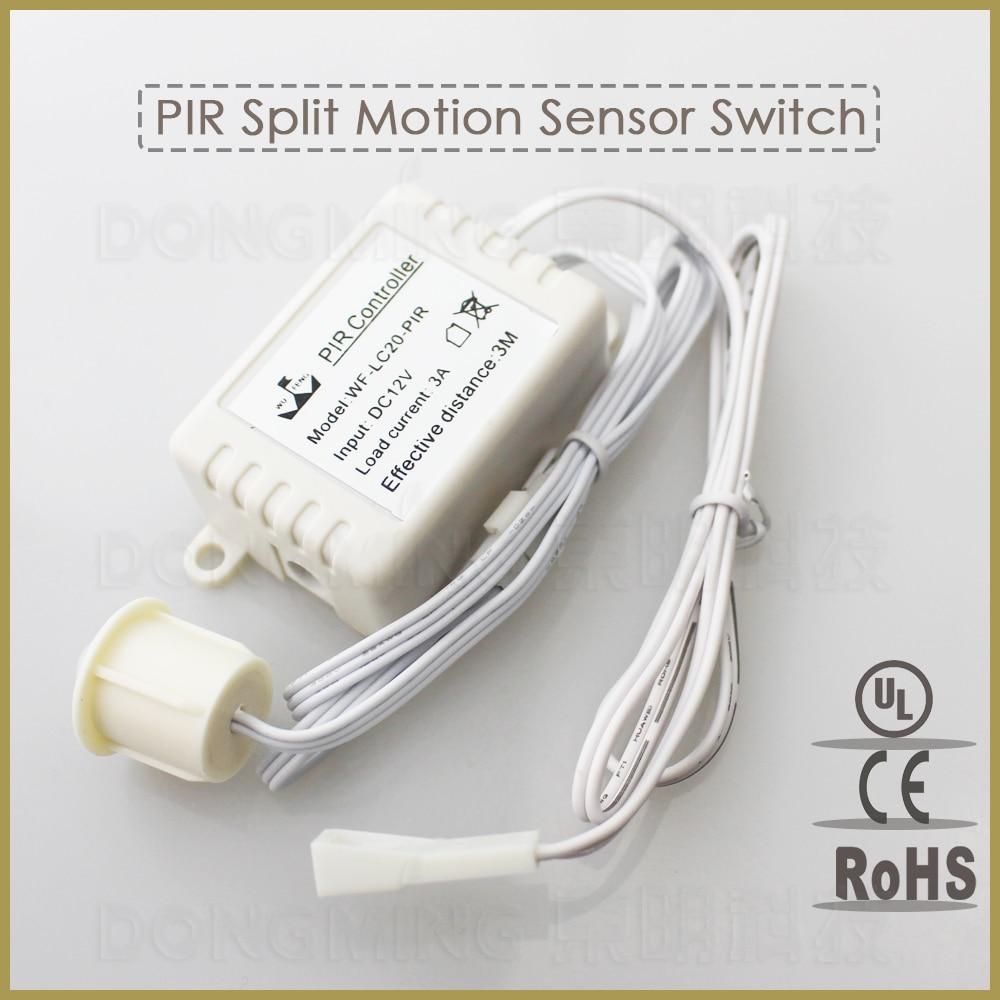 12v 3a Split Led Pir Infrared Motion Sensor Switch