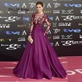 ZYLLGF Bridal Sexy See Through Long Sleeves Red Carpet Celebrity Dresses 2016 Beaded Vestido Longo De Festa Celebridades GN18
