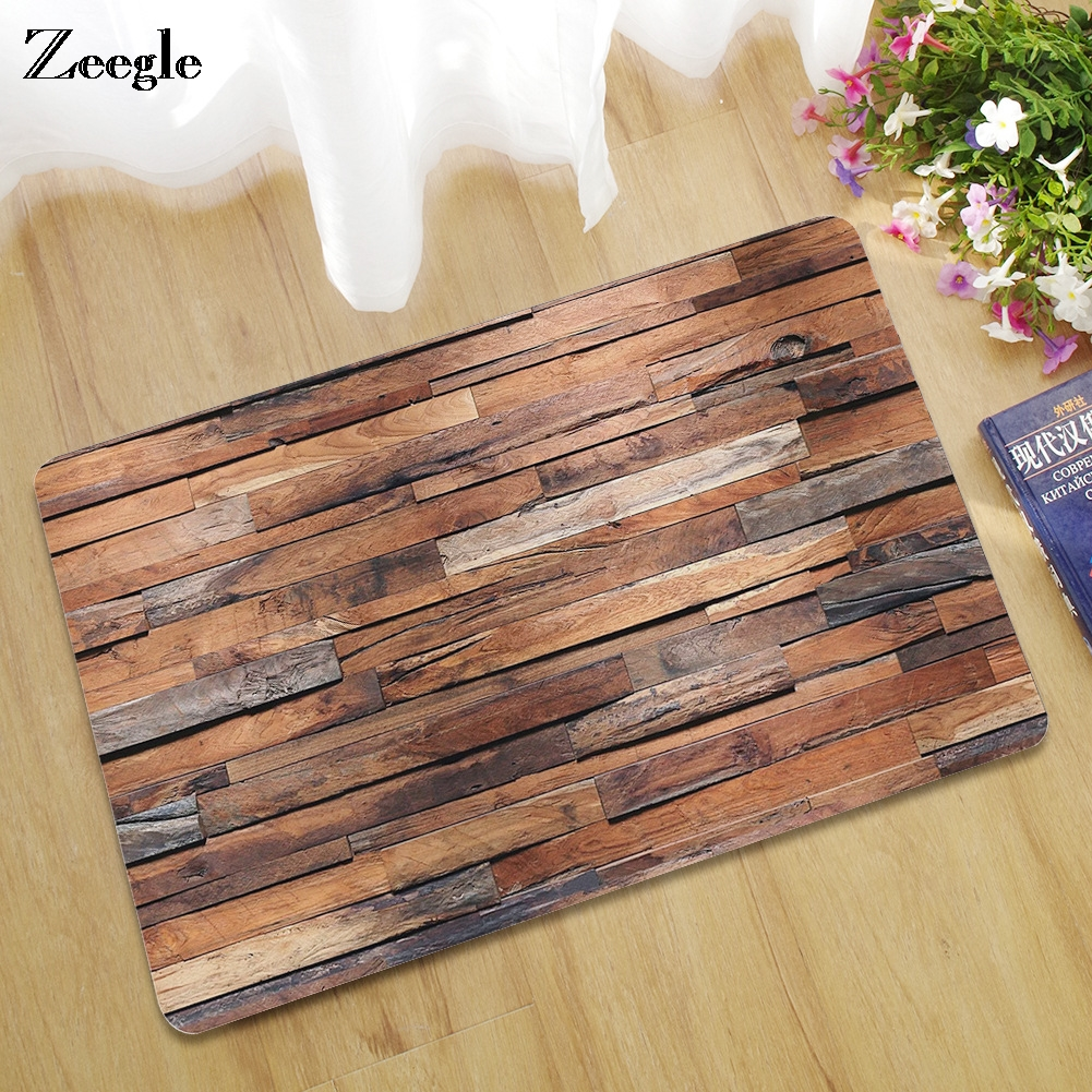 Zeegle Entrance Mats for Wooden Floor Doormat Outdoor Rugs ...