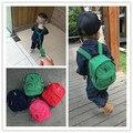 Crianças polo sacos anti-perdidos Crianças mochila de lona 100% algodão mochila infantil mochila de Alta qualidade
