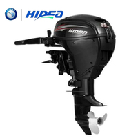 Hidea Wholesale and Retails Water Cooled 4 stroke 9.9HP marine engine outboard motor for boats long shaft marine outboard engine