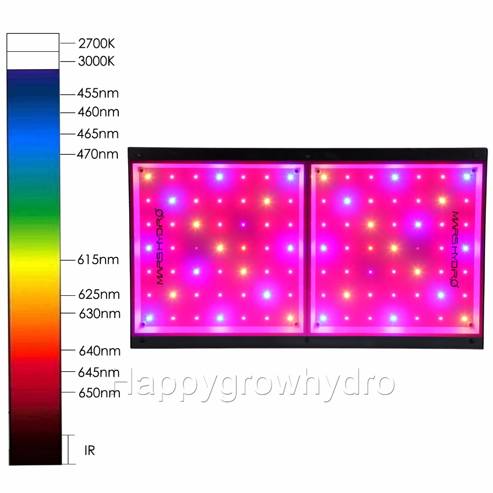 Mars ECO 98 LED Grow Light Lamp Hydroponics Indoor Garden Plants Full Spectrum bp 7 home garden eco logic