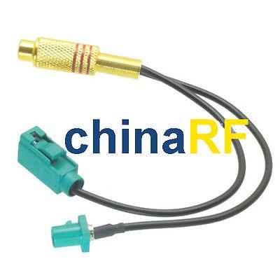 Cinch-buchse JACK V Fakra Z 5021 male & female RG174 Splitter Combiner kabel