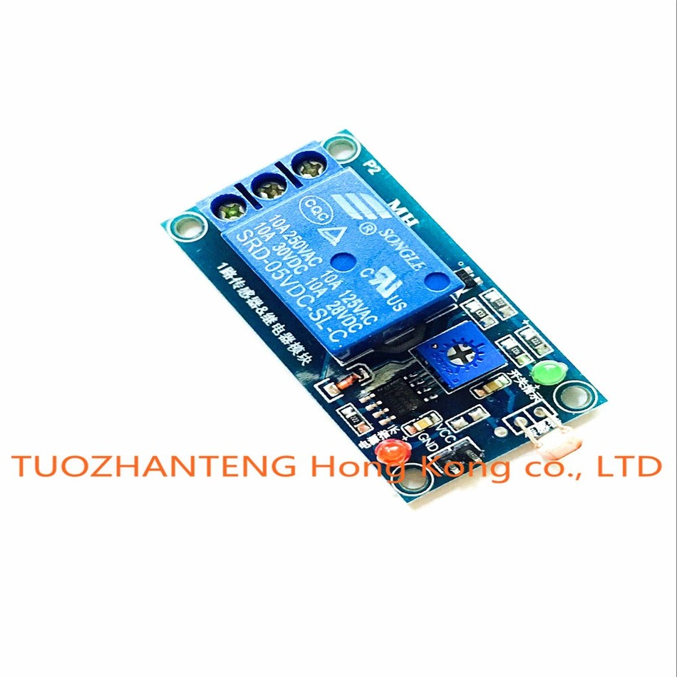 1pcs 5V Light Photoswitch Sensor Switch LDR Photoresistor Relay ...