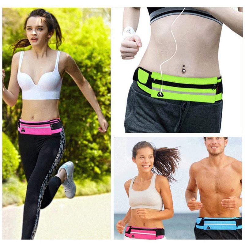 Professional Sale New 1pc 5 Color Women Men Sports Running Gym Sport Waist Belt Bag Case Cover For Iphone 6 Plus Se12 Relojes Y Joyas