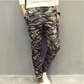 2017 Brand New Camouflage Mens Pants Cool Casual Military Trouser Slim trend Sweatpants Men Joggers Hip Hop Sweatpants
