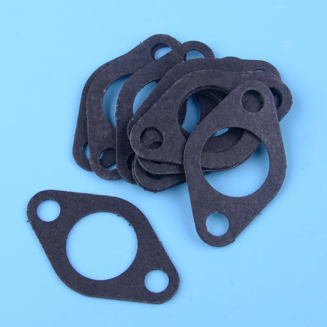 LETAOSK 10Pcs Exhaust Muffler Gasket Fit For Honda GX390 GX340 188F 11HP-13HP Engine Motor Generator Water Pump
