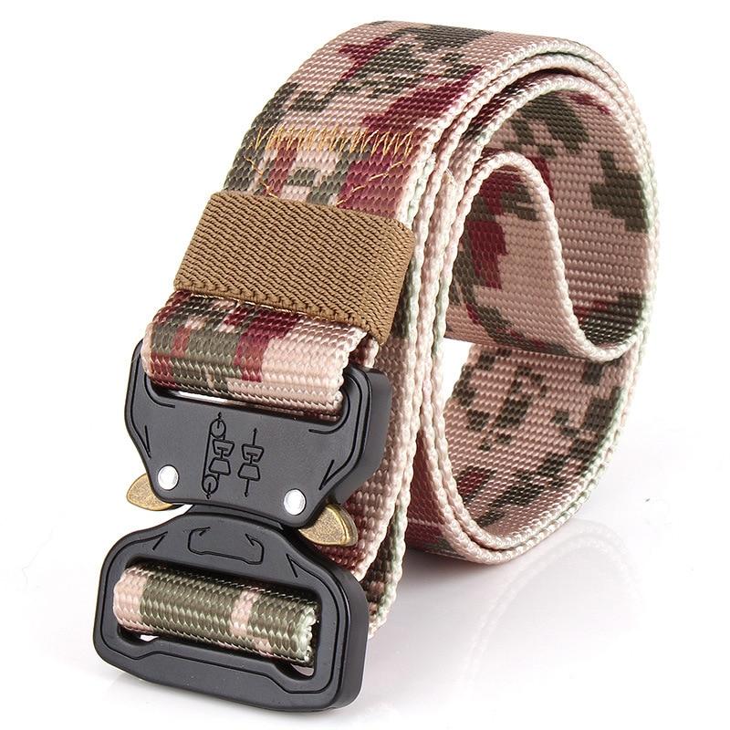 где купить SWAT Combat Military Equipment Tactical Belt Men 1000D Nylon Metal Buckle Knock Off Belts US Army Soldier Carry Waist Belt 4.5c по лучшей цене
