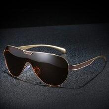 Xiasent New mens polarized sunglasses Siamese classic fishing mirror driving UV400 Gafas De Sol