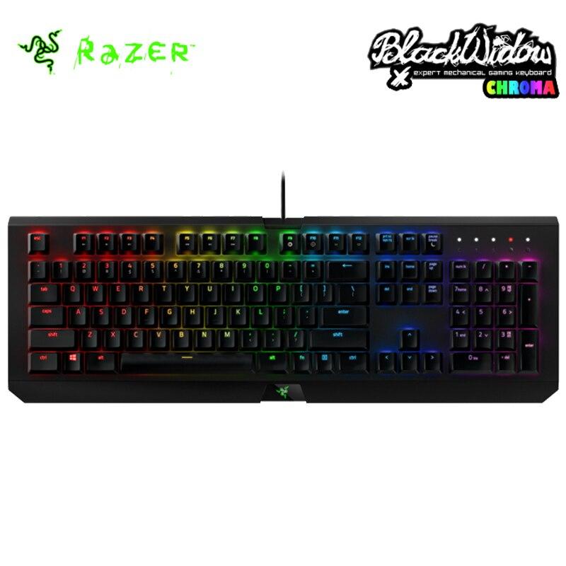 bilder für Razer BlackWidow X Chroma Gaming Tastatur Razer BlackWidow X Turnier Edition Mechanische Tastatur RGB Hintergrundbeleuchtung Kompaktes Layout