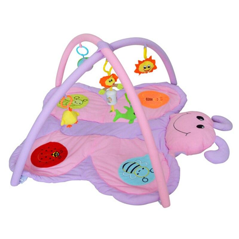 HziriP bébé garçons filles jouer tapis mignon dessin animé papillon Gym couverture Puzzle tapis bébé jouets éducatifs ramper jeux tapis cadeaux - 4