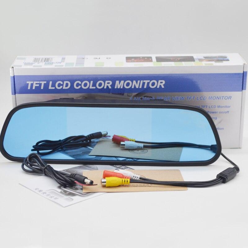 5 cal ekran TFT LCD Monitor samochodowy lustro cofania auto System parkowania monitora z 2 wejścia wideo HD800 * 480 NTSC PAL wyświetlacz