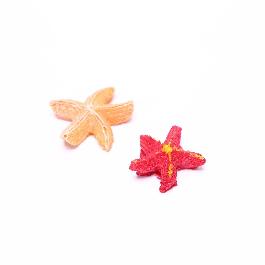 Resin Starfish Tiên Vườn Thu Nhỏ Starfish Hồ Cạn Bức Tượng Nhỏ Thu Nhỏ Trang Trí Sân Vườn Thu Nhỏ Cổ Tích Bức Tượng Nhỏ 1 CÁI