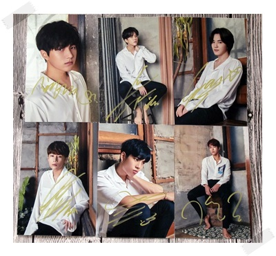 signed  INFINITE autographed  photo K-POP 6 photos set 6 inches free shipping 102017 got7 got 7 youngjae kim yugyeom autographed signed photo flight log arrival 6 inches new korean freeshipping 03 2017