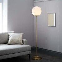 Villa Floor Lamps Model Room Living Room Sofa Bedroom Floor Lamp Nordic Designer Bulb Glass Bulb