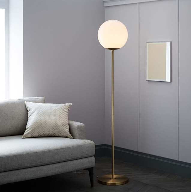 Villa floor lamps model room living room sofa bedroom floor lamp villa floor lamps model room living room sofa bedroom floor lamp nordic designer bulb glass bulb aloadofball Choice Image
