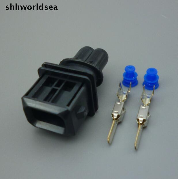 10 компл. 2 pin vrouwelijke авто brandstof sproeikop plug/оли сопла stekker/метанол ремонт разъем для bosch разъем разъем