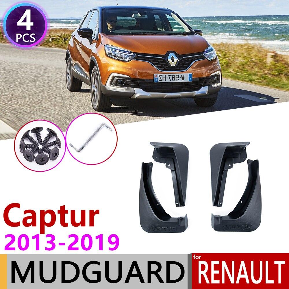 For Renault Captur Samsung QM3 2013~2019 Mudflap Fender Mudguard Mud Flaps Guard Splash Accessories 2014 2015 2016 2017 2018