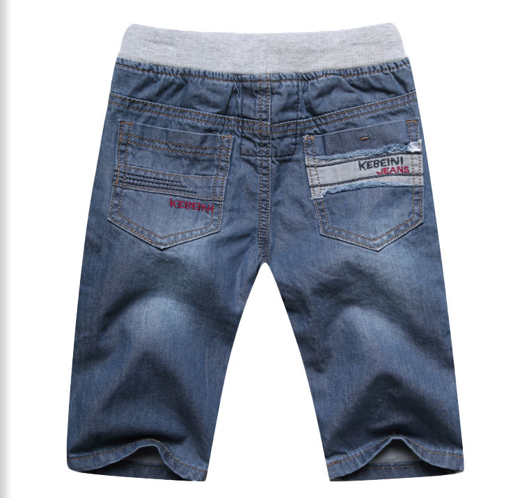 2 To 13Years Kids Boys Denim Shorts 2018 New Summer Casual Children Boys Jeans Shorts Cotton Breathable Soft Kids Boys Trousers