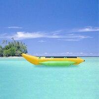 1 шт. Новый Банан Лодка на воде надувная вода Рыба Вода банан лодка большой серфинг воды надувные игрушки однорядные 3 сиденья