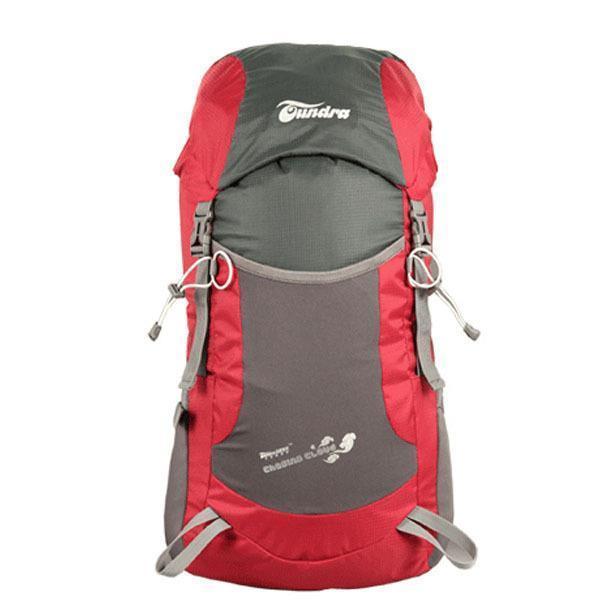 Recién llegado de Doble hombro montañismo bolsa de nylon plegable mochila mochilas de viaje envío libre Q3