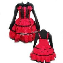 Ladies Victorian Lolita Gothic Barbie Palace Retro Princess Dress Shirt Women man clothing