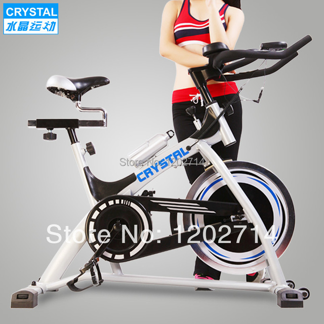 a289c028c48 Crystal factory wholesale spinning bike indoor cycling exercise bike  trainer double handlebar burns fat cal fitness equipment