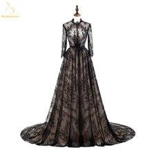 Женское вечернее платье bealegantom длинное кружевное с длинными