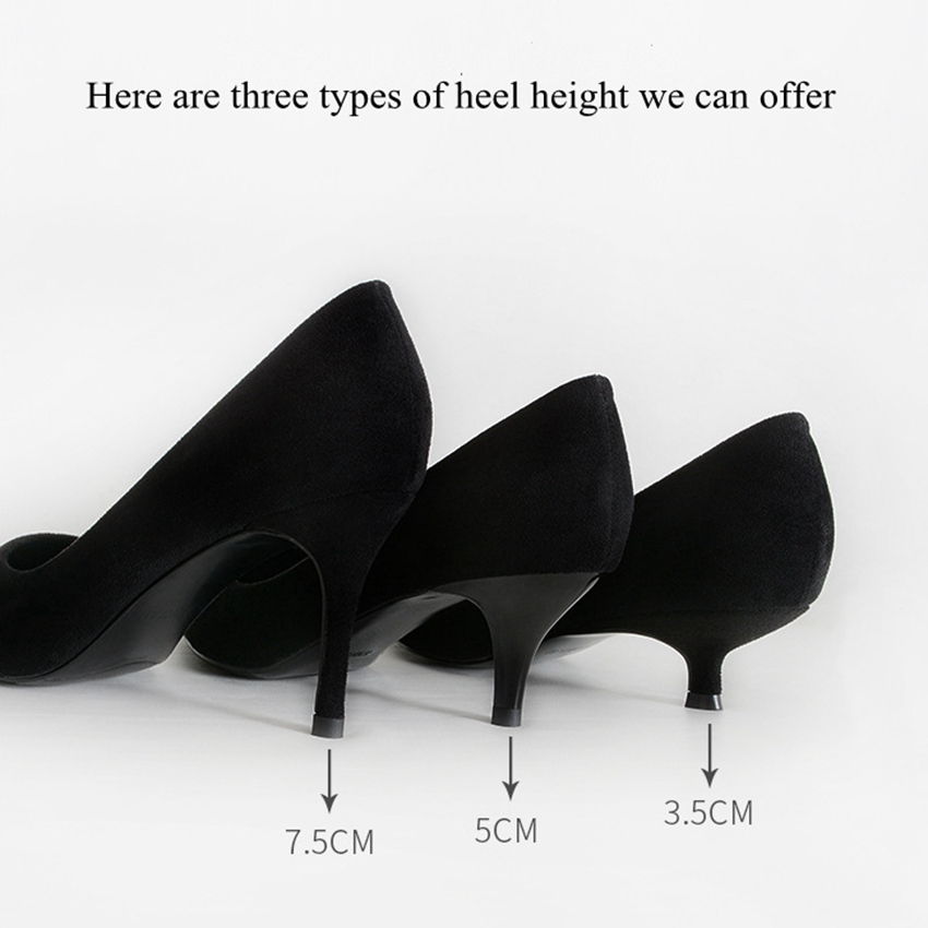 Women Pumps Slip On Pointed Toe High Heels Shoes Woman Stiletto Mid Heels Low Heels hee grand sweet patent leather women oxfords shoes for spring pointed toe platform low heels pumps brogue shoes woman xwd6447