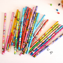 50pcs / lot bulk pencil HB student stationery wholesale cartoon design price of single super Di office