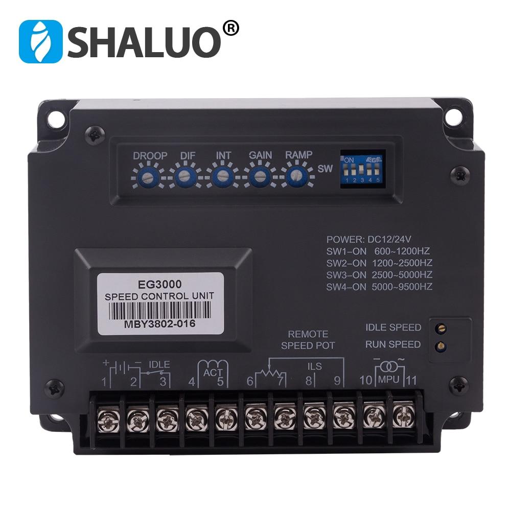 EG3000 générateur électronique régulateur de vitesse régulateur stabilisateur sans balai groupe électrogène partie DC 12 v moteur contrôle partie