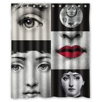 Fornasetti The Face Custom Waterproof Shower Curtain 60 X 72 Free Shipping Bathroom Decor