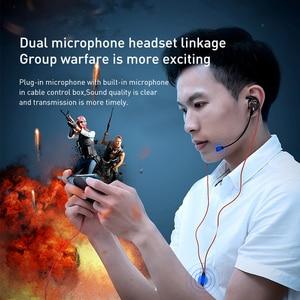 Image 3 - Baseus Gaming Koptelefoon Voor Pubg Controller GAMO 15 3D Stereo Oortelefoon Voor Mobiele Pubg Gamer Met Afneembare Hd Mic