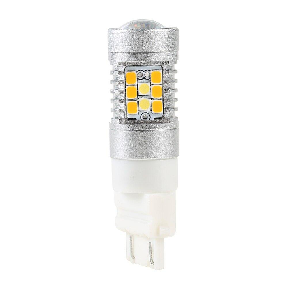 2 ədəd 3157 dönüş siqnal işığının işığı 28 LED ikiqat - Avtomobil işıqları - Fotoqrafiya 2