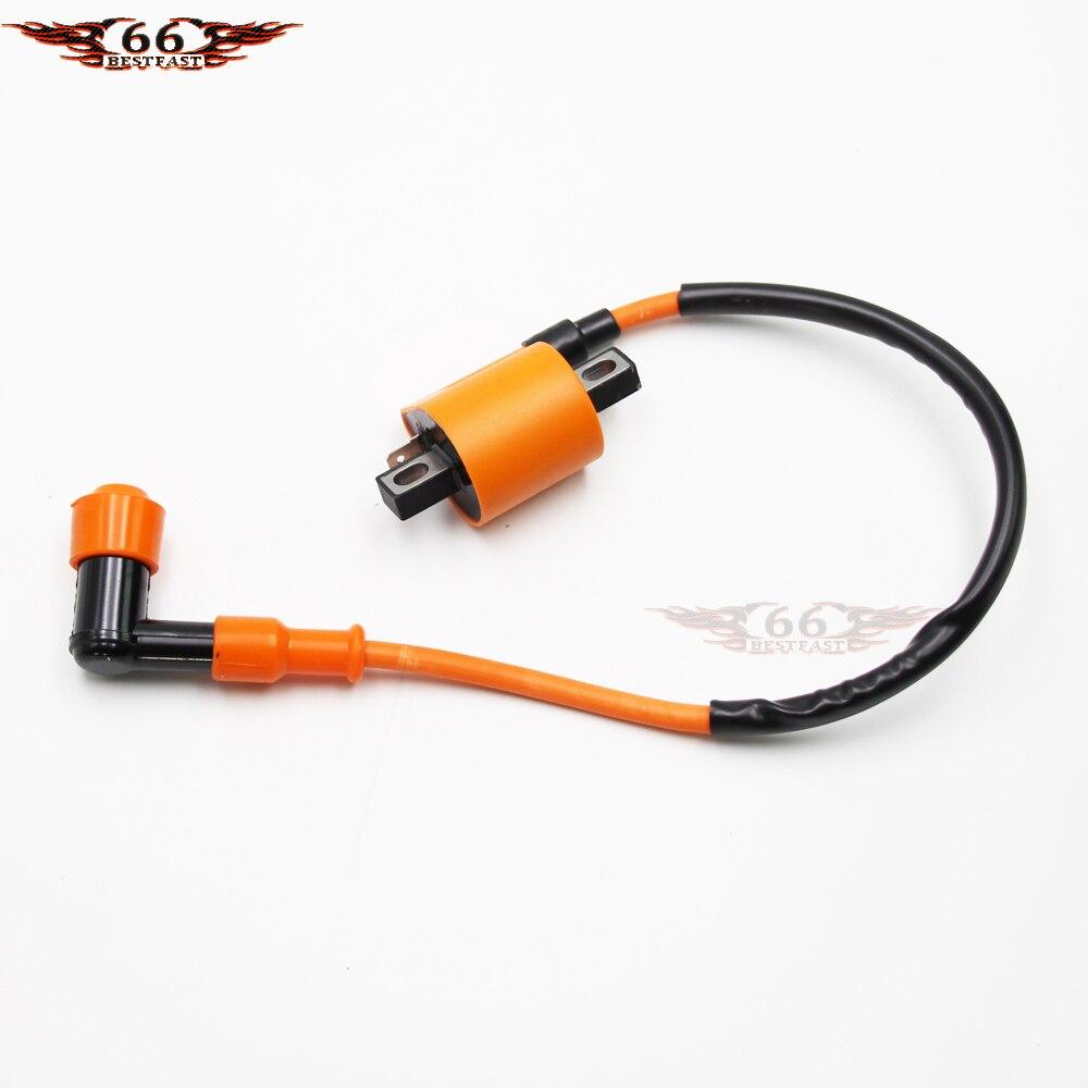 performance ignition coil 110cc 125cc 150 200cc 250cc taotao sunl peace jcl roketa kinroad atv moped go kart quad new [ 1000 x 1000 Pixel ]