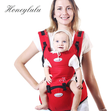 Honeylulu 3 in 1 Ergonomic Baby Carrier Four Seasons Sling For Newborns Kangaroo Ergoryukzak Hipsit Backpack