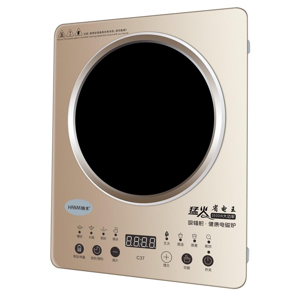 3500 Вт мини электрический нагреватель плита горячая плита молоко вода кофе Отопление печь Многофункциональный кухонный прибор ЕС вилка