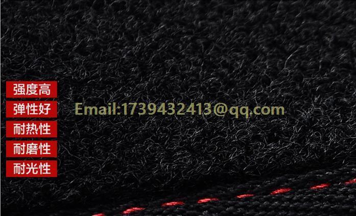 Dashmats araba-styling aksesuarları Toyota Corolla Axio Altis için - Araç Içi Aksesuarları - Fotoğraf 4