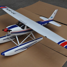 Cessna 182 1720MM Wingspan Blue With Flap LED Balsa Wood RC Airplane