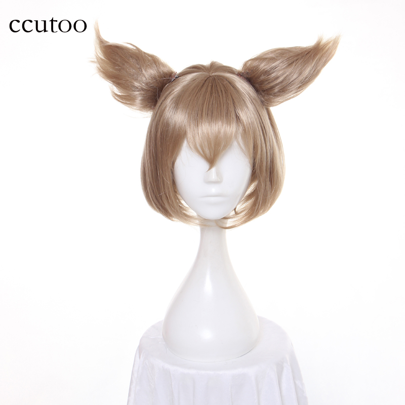 Re:Life in a different world from zero Cosplay Ram  Perücke 30cm Rosa Anime Haar