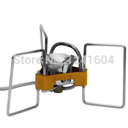 ФОТО New Fire Maple Stainless Steel Cooking Oil Stove Lightweight Outdoor Camping Picnic Stove  FMS-F5 3200w 179.5g Free Shipping