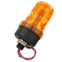 NEW Safurance LED Rotating Flashing Amber Beacon Flexible Strobe Tractor Warning Light 12v 24v Traffic Light